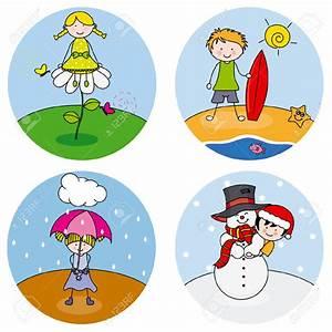 Four Seasons Clip Art – Cliparts