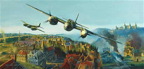 aviation art bailey robert shock  shadow valley