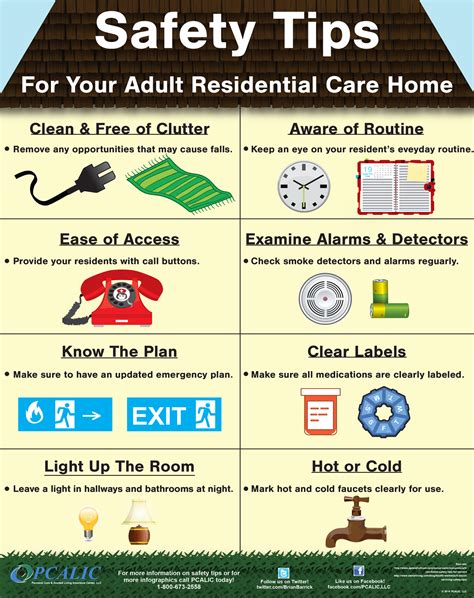 safety posters pcalic personal care  assisted