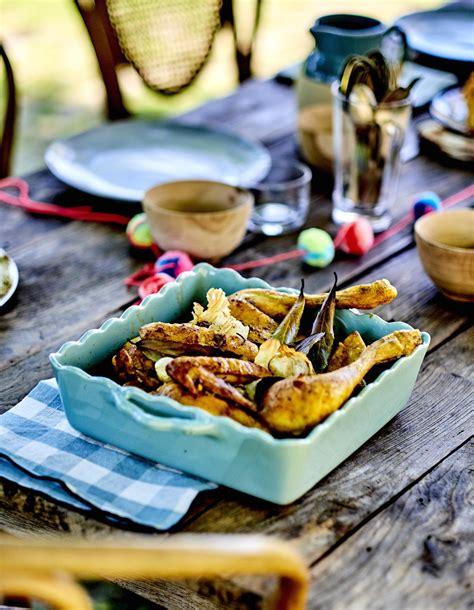 volaille en cuisine poulet en crapaudine au curcuma pour 4 personnes recettes à table