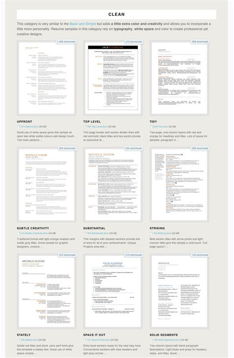 Free Resume Template by 275 Free Microsoft Word Resume Templates The Muse
