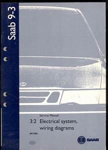 M1998 Saab 9  Wiring Diagram