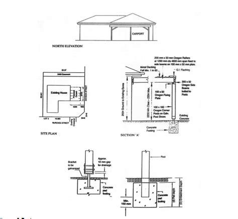 Build Carport Construction Details Diy Pdf Wine Rack