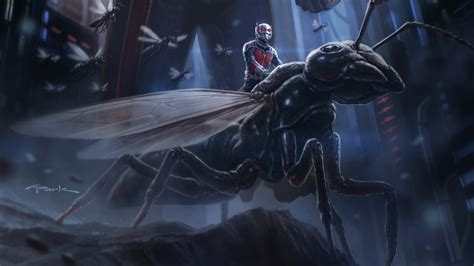 Ant Man Artwork Wallpapers