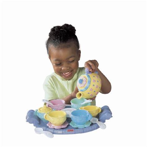 toddler toys fisher price musical tea set