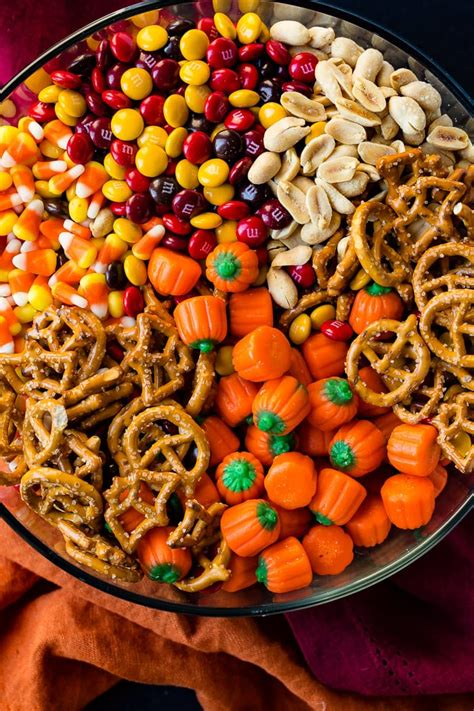 5 minute halloween snack mix oh sweet basil