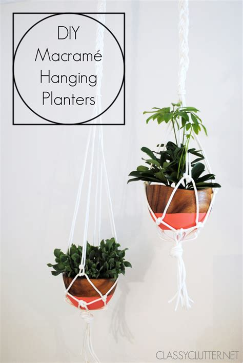 make a hanging l how to make a macrame hanging planter 28 images 25