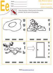 vowel digraphs worksheets  kindergarten