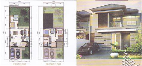 gambar desain denah rumah bali contoh