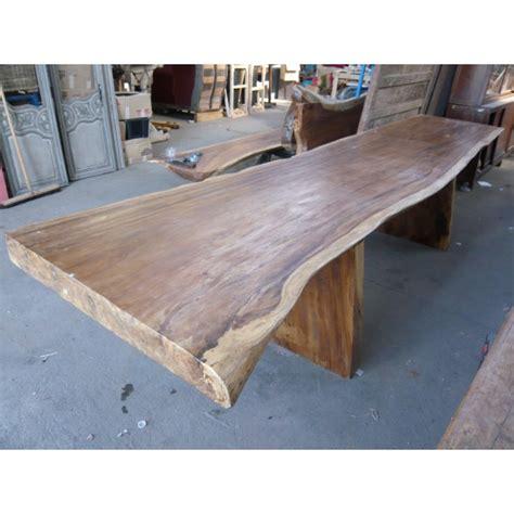 table de en bois grande table en bois de suar espace gide d 233 coration