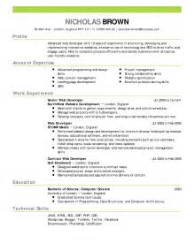 resume format with photo what is best exle of resume resume sles