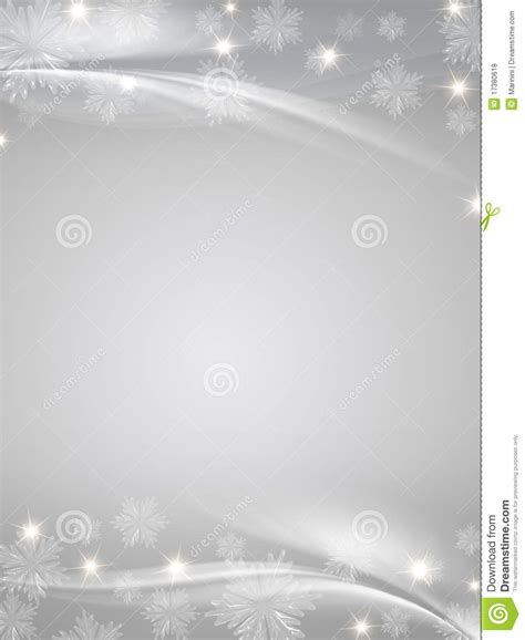 crystal snowflakes grey background royalty  stock