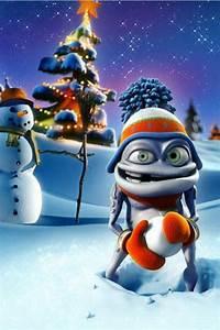 Evil Snowman iPhone Wallpaper HD