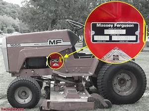 Massey Ferguson 1655 Lawn Tractor 16hp Onan Need Complete
