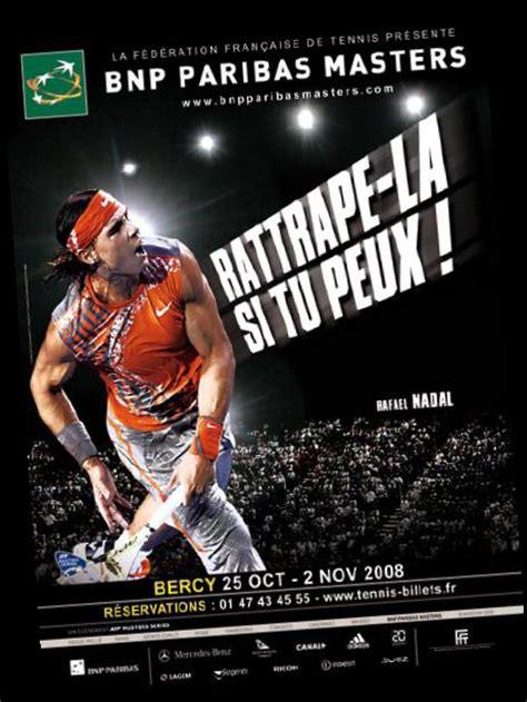 adresse si鑒e bnp paribas illustrasport a signé la cagne du bnp paribas masters 2008