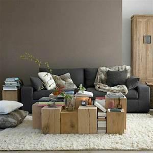 aujourd hui nous sommes inspires par la couleur taupe With tapis d entrée avec plaid canapé taupe