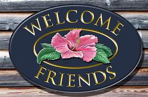 Welcome Friends Welcome Sign - Danthonia Designs USA