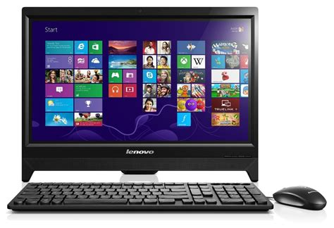 ordinateur de bureau toshiba lenovo c260 19 5 inch all in one touchscreen desktop