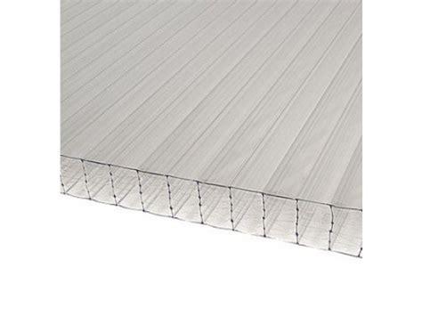 plaque polycarbonate 32 mm translucide 3 x 1 25 m pas