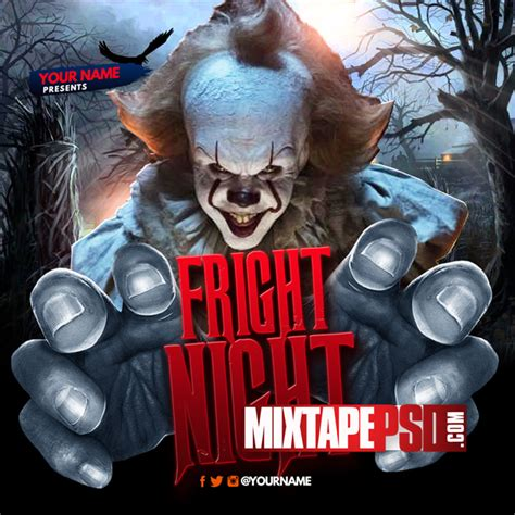mixtape template mixtape template fright mixtapepsd