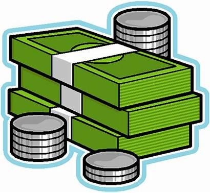 Money Clipart Icon Pile Clip Symbol Paycheck