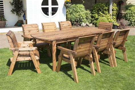 Wooden Patio Furniture Sets by Uk Made Fully Assembled Heavy Duty Wooden Patio Garden