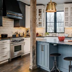 angled kitchen island kitchen bay cabinetry With kitchen colors with white cabinets with forth rail bridge wall art