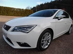 Seat Leon Blanche : seat leon 2 0 tdi 140 style gps led blanc 68797 kms garage gester vente de voitures d 39 occasions ~ Gottalentnigeria.com Avis de Voitures