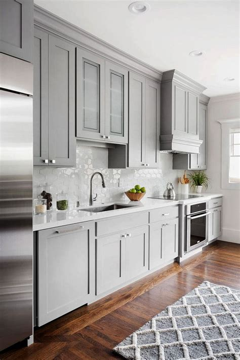 gray kitchen cabinet ideas 20 gorgeous kitchen cabinet color ideas for every type of