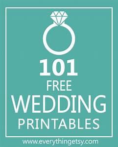 101 wedding printables free everythingetsycom With downloadable wedding signs