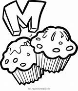 Coloring Blueberry Pages Printable Muffin Cartoon Cupcake Getcolorings Cupcakes Printables Dari Disimpan sketch template