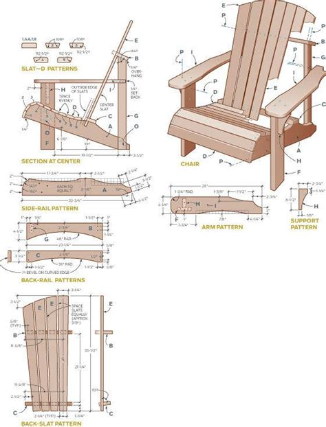 adirondack chair plans pdf free adirondack chair plans and materials pdf how to