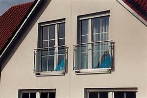 Gerd langer metallbau franzosische balkone for Französischer balkon mit gartenzaun pfosten verzinkt
