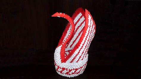 Origami Big Swan Assembly Diagram Tutorial