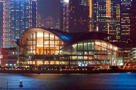 hong kong convention  exhibition centre  state   art landmark  wan chai north