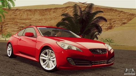 hyundai genesis tunable for gta san andreas