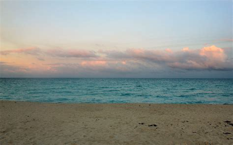 north beach horizon  miami florida image  stock