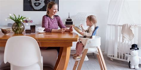 stokke 174 steps chair white seat legs stokke