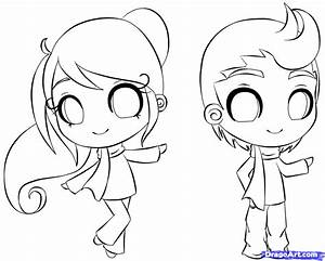 Draw a Chibi Person, Step by Step, Drawing Sheets, Added ...