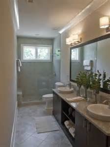 1000 ideas about small narrow bathroom on pinterest