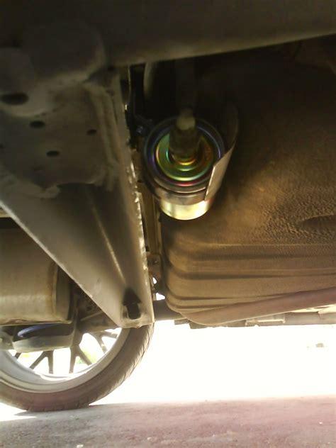 fuel filter change aveo sedan  lt