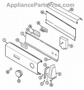 Parts For Admiral Lde1000ake  Control Panel Parts
