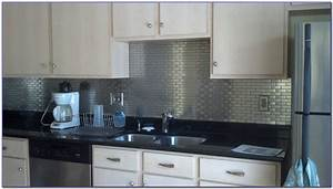 Stainless steel backsplash tiles self adhesive tiles for Stainless steel backsplash tiles self adhesive