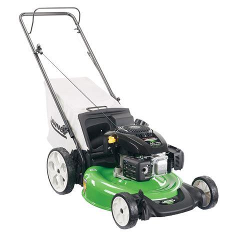 depot mowers lawn boy 21 in high wheel gas walk push mower with Home
