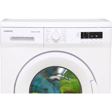 test oceanic cdiscount oceall7120w lave linge ufc