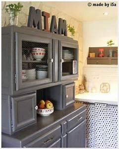 Buffet De Cuisine Gris : joli buffet de cuisine mado gris annees 50 upcycled furniture from the 50s culture scribe ~ Mglfilm.com Idées de Décoration