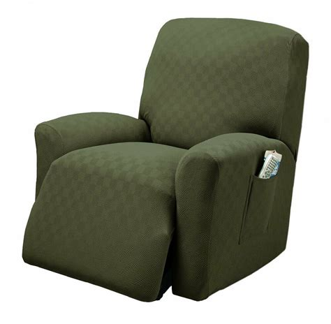 Recliner Slip Cover by Stretch Sensations Newport Recliner Stretch Slipcover