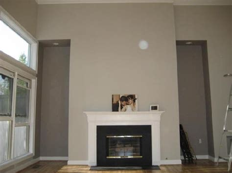 living room painted with sherwin williams modern gray