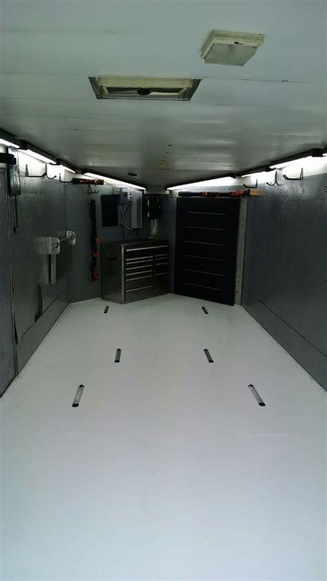 Rubber flooring | garage flooring | gym flooring | toy hauler flooring | car show trailer flooring (black, 5') 4.5 out of 5 stars 40. Enclosed Snowmobile Trailer Flooring Ideas | Floor Matttroy