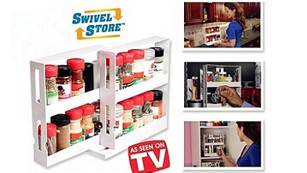 Swivel Store Spice Rack by Swivel Store Spice Organizer Rack Streetdeal My
